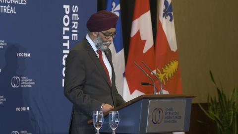 L'honorable Harjit Sajjan